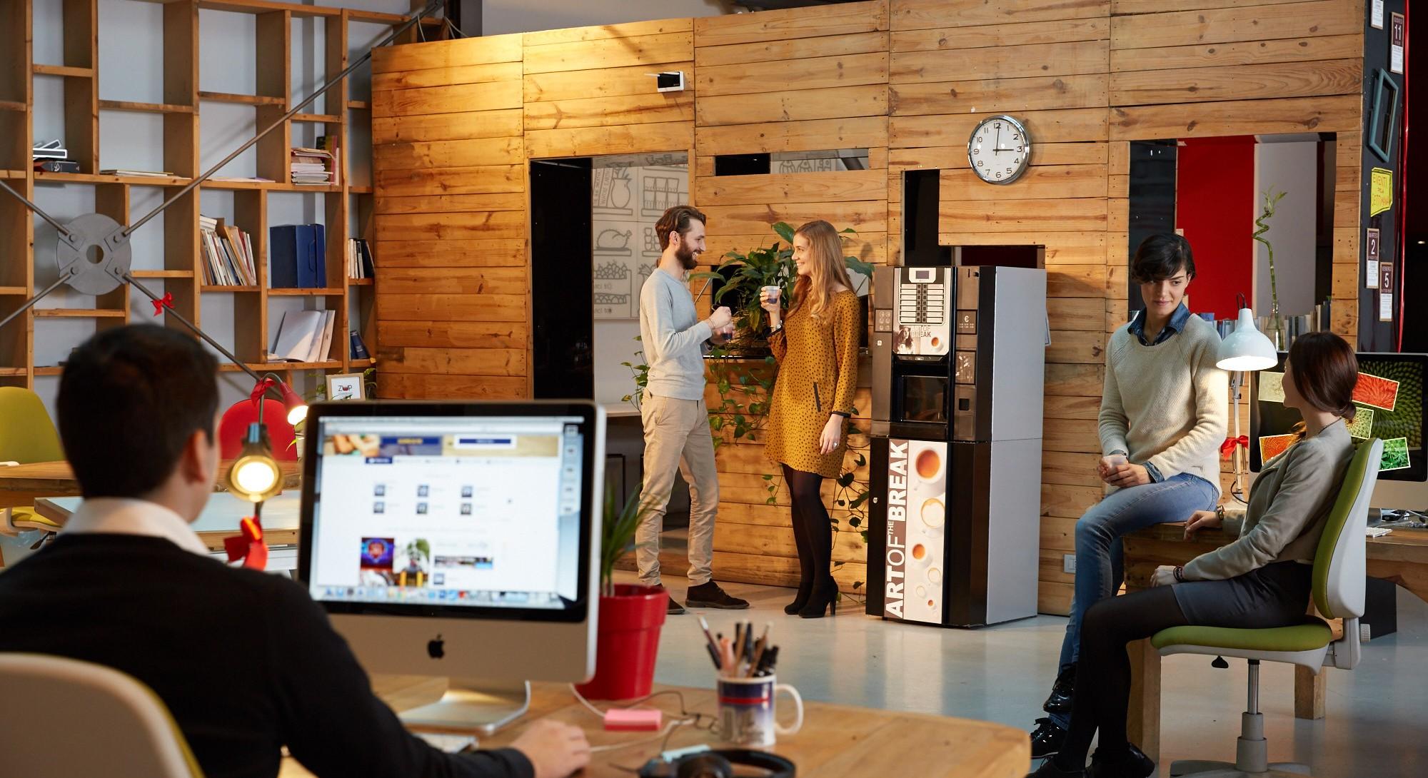 automate de cafea vending Solo Caffe