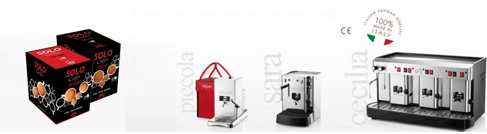 Espressor si paduri cafea - Solo Caffe